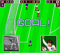 Tecmo World Cup '90 screenshot