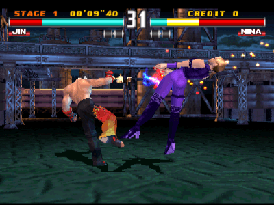 Tekken 3 arcade video game by NAMCO (1996)