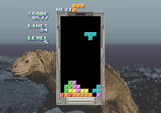 Tetris [Model 317-0091] screenshot