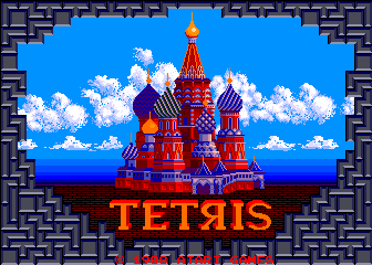 Tetris [Upright model] screenshot