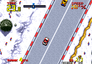 Thrash Rally [Model NGM-038] screenshot