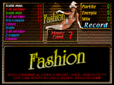 Fashion screenshot