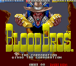 Blood Bros. screenshot