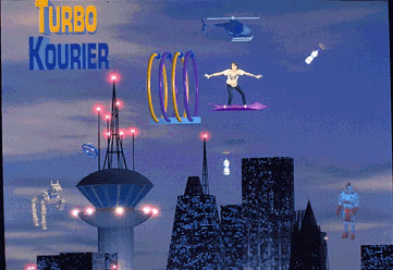 Turbo Kourier screenshot