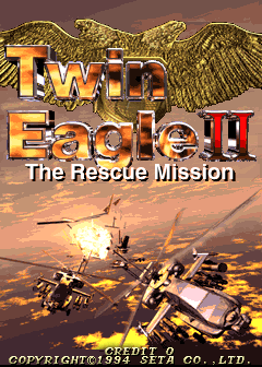 Twin Eagle II - The Rescue Mission screenshot