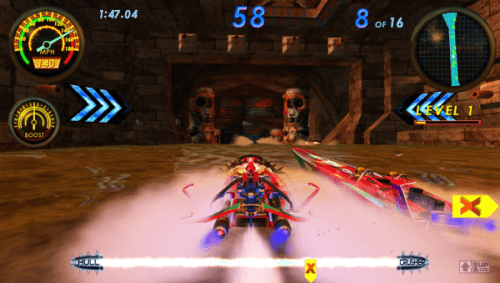 H2Overdrive, Arcade Video game by Raw Thrills (2009)