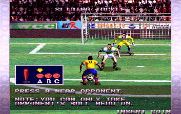 Versus Net Soccer [Model GX627] screenshot