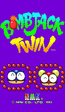 Bomb Jack Twin screenshot