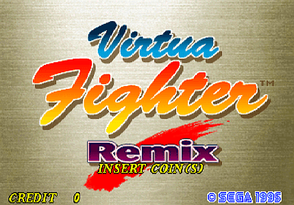 Virtua Fighter Remix [Model 610-0373-02] screenshot