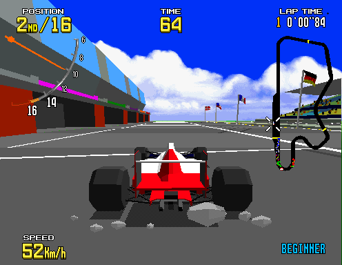 V.R. - Virtua Racing screenshot