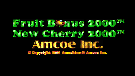 Fruit Bonus 2000 - New Cherry 2000 screenshot