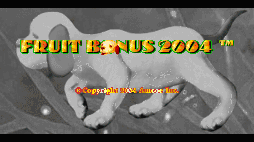 Fruit Bonus 2004 screenshot