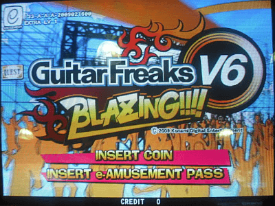 GuitarFreaks V6 Blazing!!!! screenshot