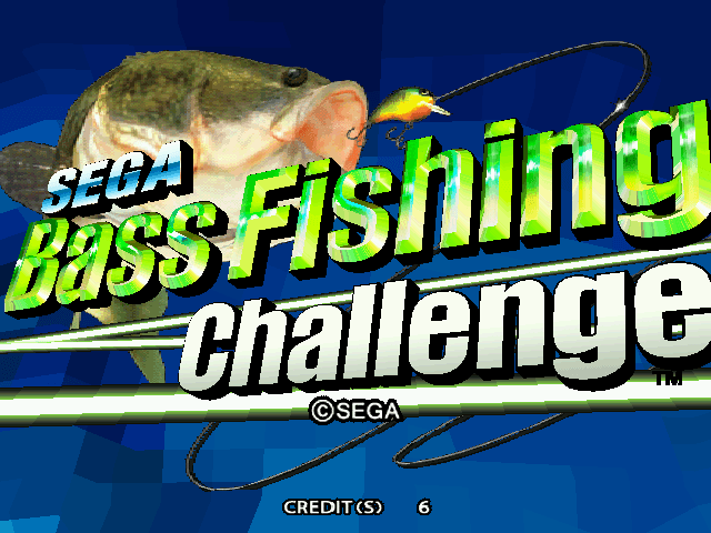 Sega Bass Fishing Challenge screenshot