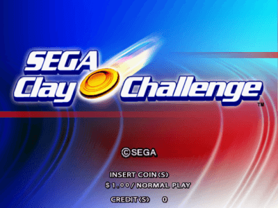 Sega Clay Challenge screenshot