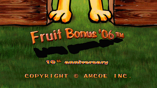 Fruit Bonus