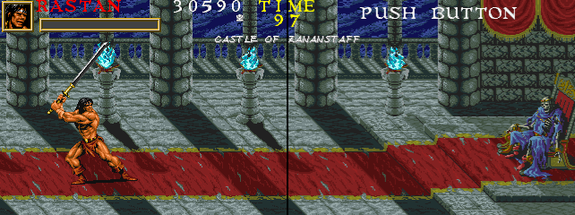 Warrior Blade - Rastan Saga Episode III screenshot