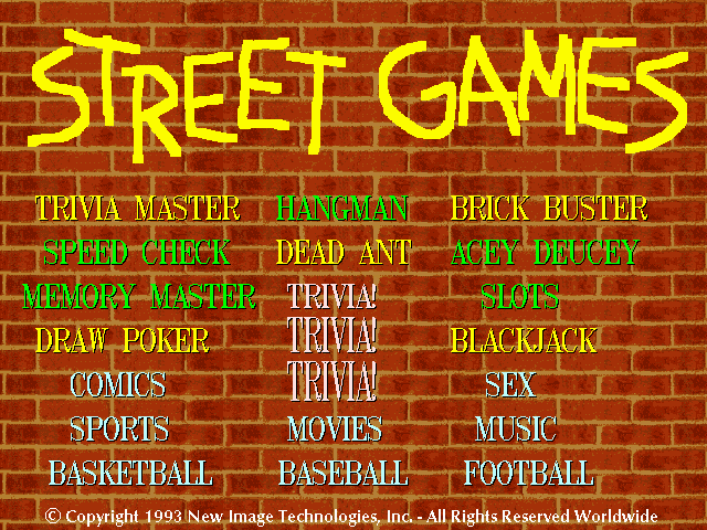Street Games II screenshot