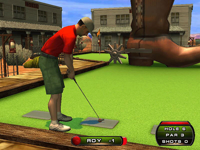 PowerPutt screenshot
