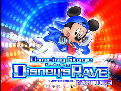 Dancing Stage Featuring Disney