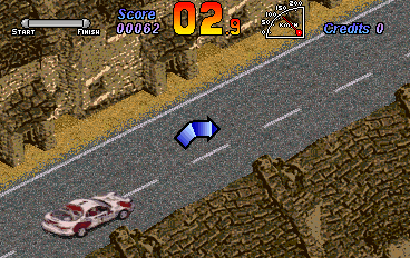 Auto Racing Arcade Coin on World Rally  Coin Op  Arcade Video Game  Gaelco  1993