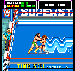 WWF Superstars [Model TA-0024] screenshot