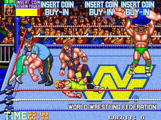 WWF WrestleFest [Model TA-0031] screenshot