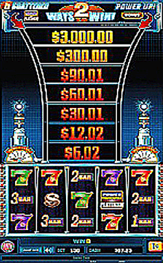 bally alpha 5 reel slot machine
