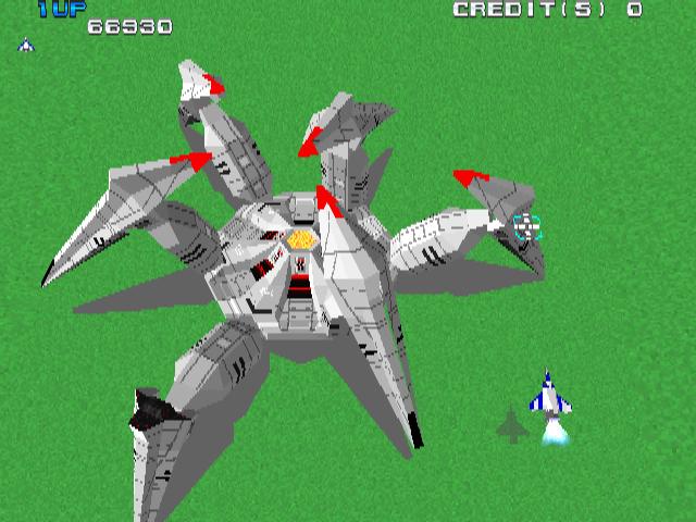 Xevious 3d G Arcade Video Game By Namco 1996