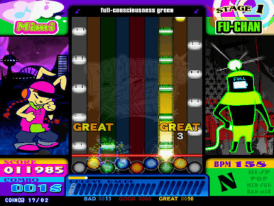 pop'n music 14 Fever! screenshot
