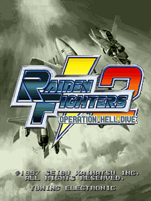 Raiden Fighters 2 - Operation Hell Dive screenshot
