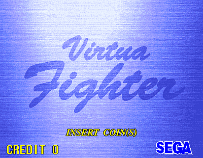 Virtua Fighter screenshot