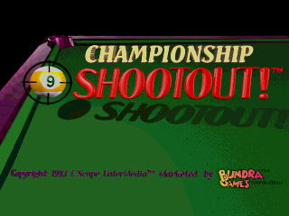 Championship 9-Ball Shootout! screenshot