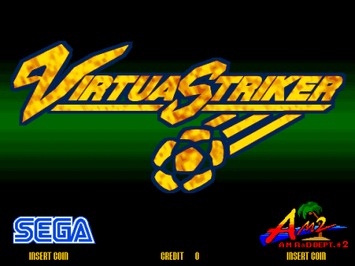 Virtua Striker screenshot