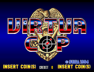 Virtua Cop screenshot
