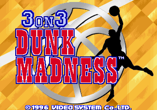 3 on 3 Dunk Madness screenshot