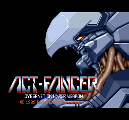 Act-Fancer - Cybernetick Hyper Weapon screenshot