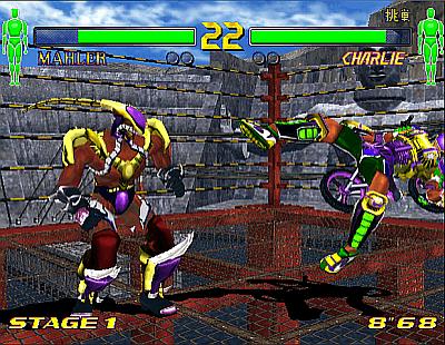 FV2: Fighting Vipers 2 arcade video game by SEGA Enterprises