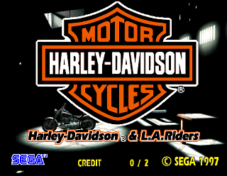 harley-davidson & l.a. riders arcade video game pcbsega