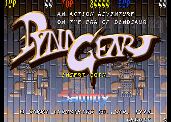 Dyna Gear - An Action Adventure On The Era Of Dinosaur screenshot