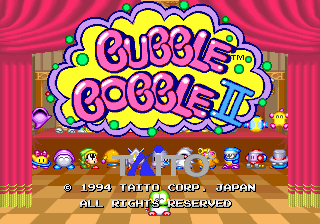 Bubble Bobble II screenshot