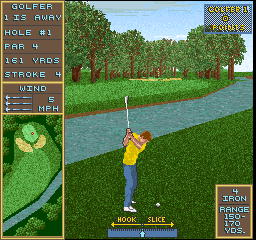 Golden Par Golf screenshot