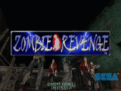 Zombie Revenge [Model 840-0003C] screenshot
