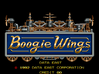 Boogie Wings screenshot
