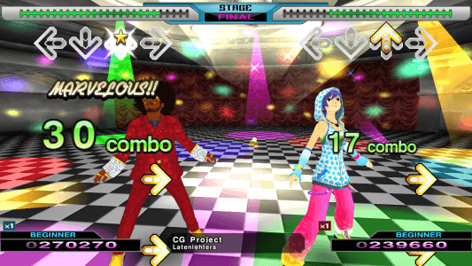 Dance Dance Revolution X2 screenshot