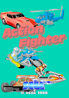 Action Fighter [Model 317-0018] screenshot
