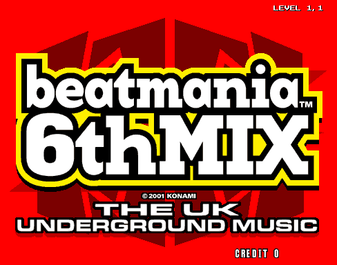 beatmania 6thMix The UK Underground Music screenshot