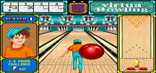 Virtua Bowling screenshot