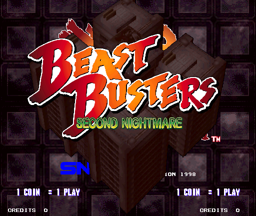 Beast Busters - Second Nightmare screenshot