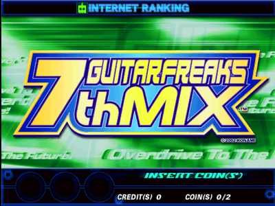 GuitarFreaks 7thMix [Model GCC08] screenshot